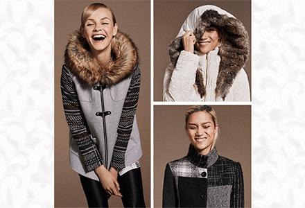 Vyberte si kabát na zimu s překvapením!