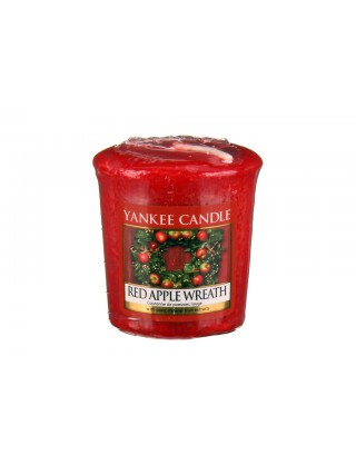 Yankee Candle vonná votivní svíčka Red Apple Wreath