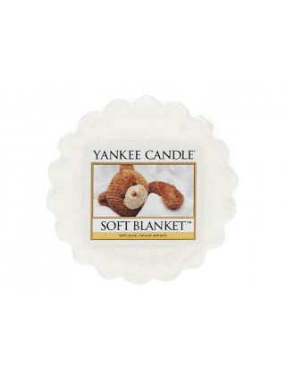 Yankee Candle vonný vosk do aromalampy Soft Blanket