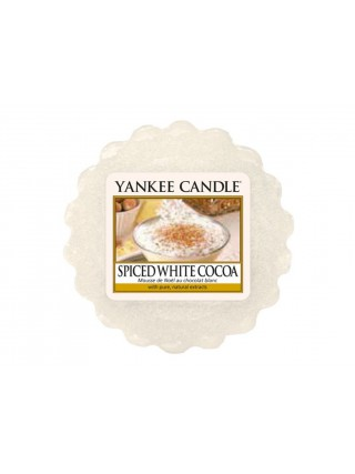 Yankee Candle vonný vosk do aromalampy Spice White Cocoa