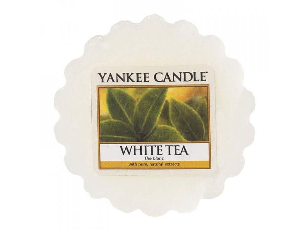 Yankee Candle vonný vosk do aromalampy White Tea, 22 g
