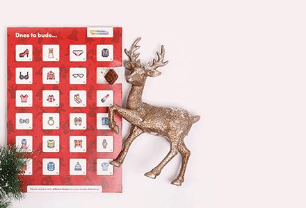 Rozdáváme módní adventní kalendáře