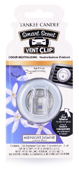 Yankee Candle vonný clip do ventilace Clean Midnight Jasmine