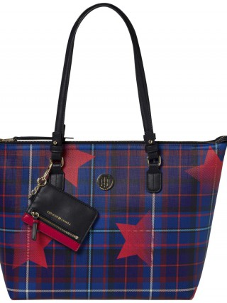 Tommy Hilfiger oboustranná kabelka Love Tommy Medium