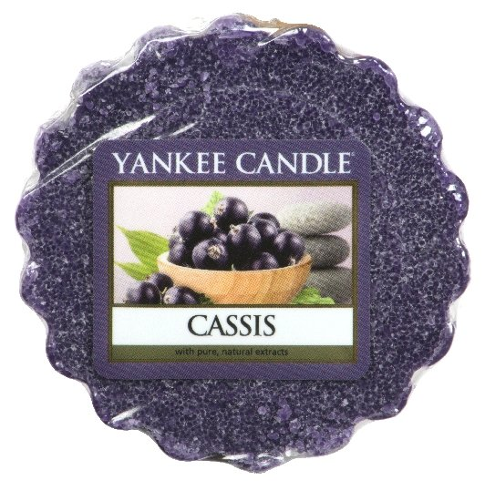 Yankee Candle vonný vosk do aromalampy Cassis