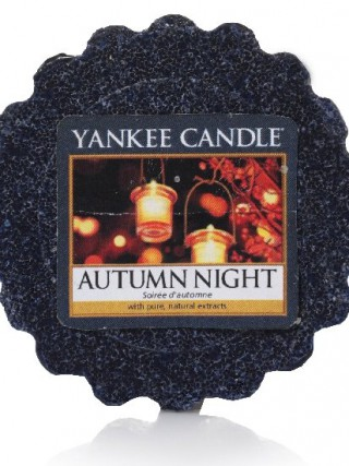 Yankee Candle vonný vosk do aromalampy Autumn Night