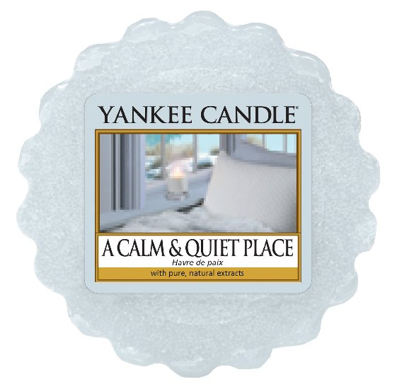 Yankee Candle vonný vosk do aromalampy A Calm & Quiet Place