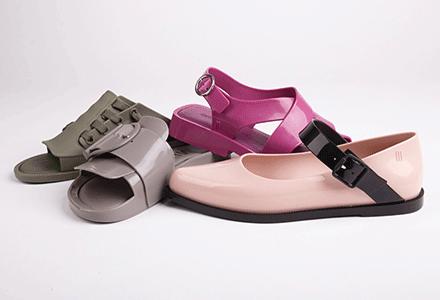 Plastové boty Melissa - boty 4 véček