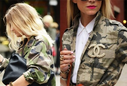 Army styl - nesmrtelný módní trend