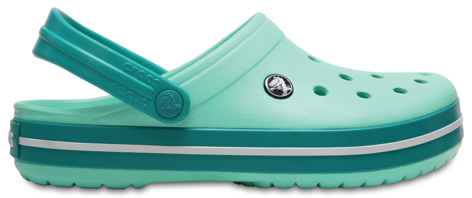 Crocs zelené boty Crocband New Mint/Tropical Teal
