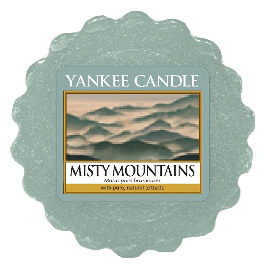 Yankee Candle vonný vosk do aromalampy Misty Mountains