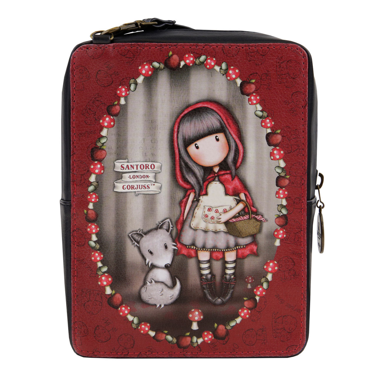Santoro malá crossbody kabelka Gorjuss Little Red Riding Hood