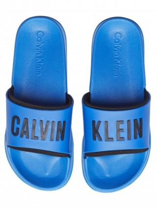 Calvin Klein modré pantofle Slide Intense Power - 45/46