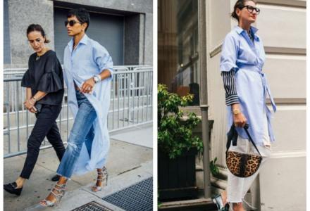 Košilové šaty jako módní trend!