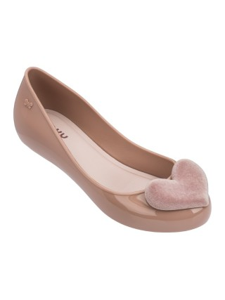 Zaxy pudrové baleríny New Pop Heart Fem Pink/Light Pink - 40