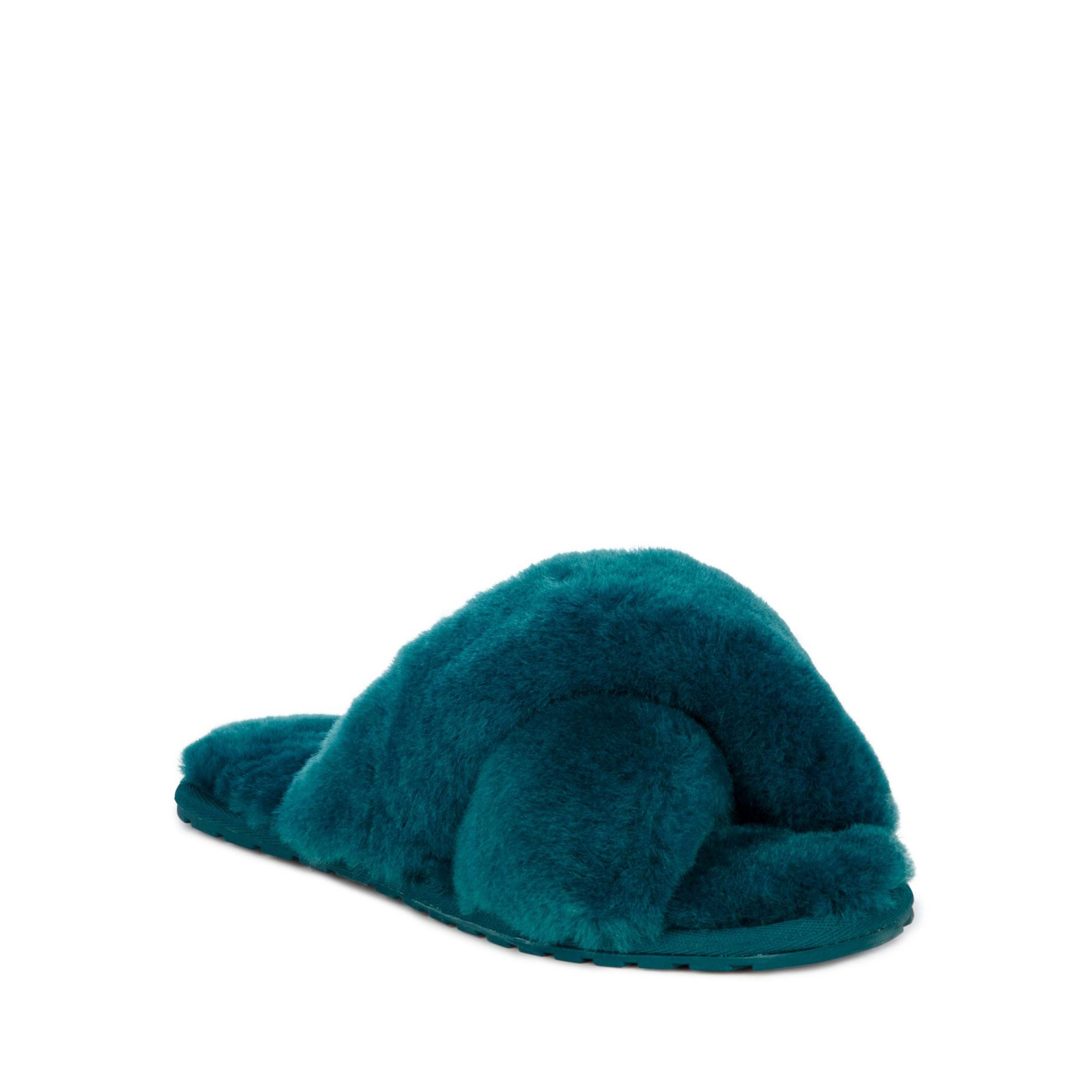 Emu petrolejové pantofle Mayberry Teal/Turquoise