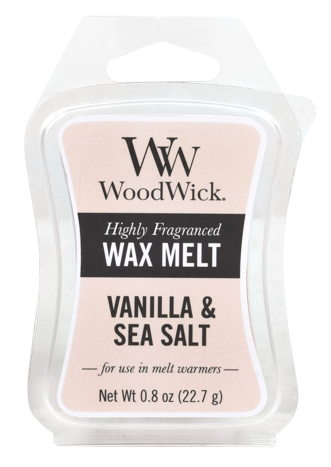 WoodWick vonný vosk do aromalampy Sea Salt Vanilla