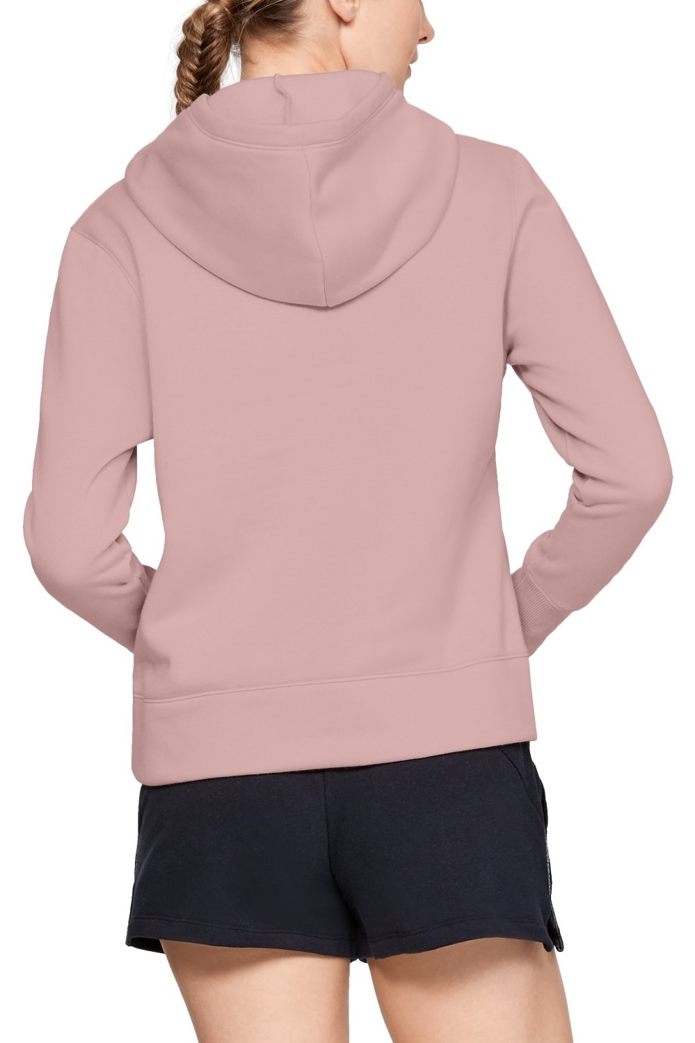 Under Armour pudrová mikina Sportstyle Logo Hoodie