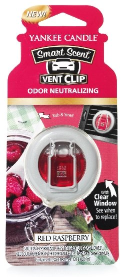 Yankee Candle vonný clip do ventilace Red Raspberry