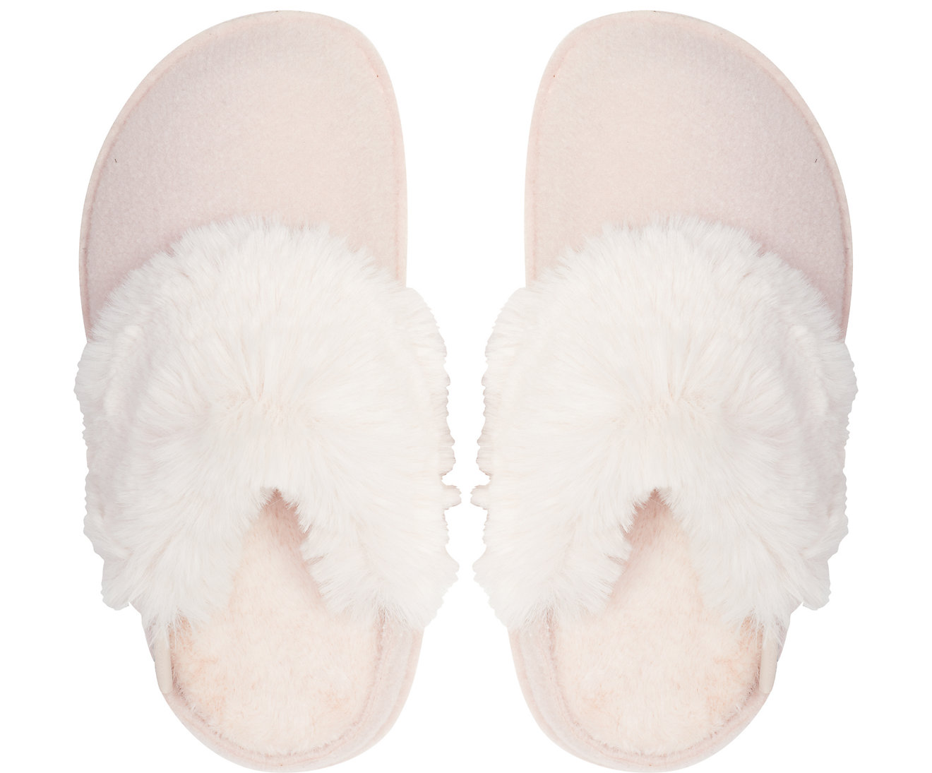 Crocs pudrové pantofle na doma Classic Luxe Slipper Rose Dust