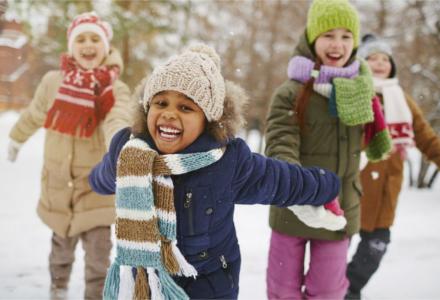 Dětské boty na zimu