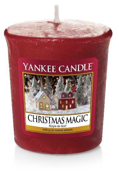 Yankee Candle vonná votivní svíčka Christmas Magic