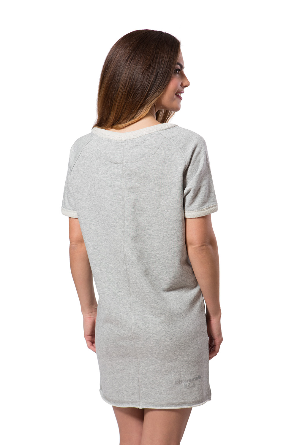 Differenta Design šedé sportovní šaty Sweat Dress