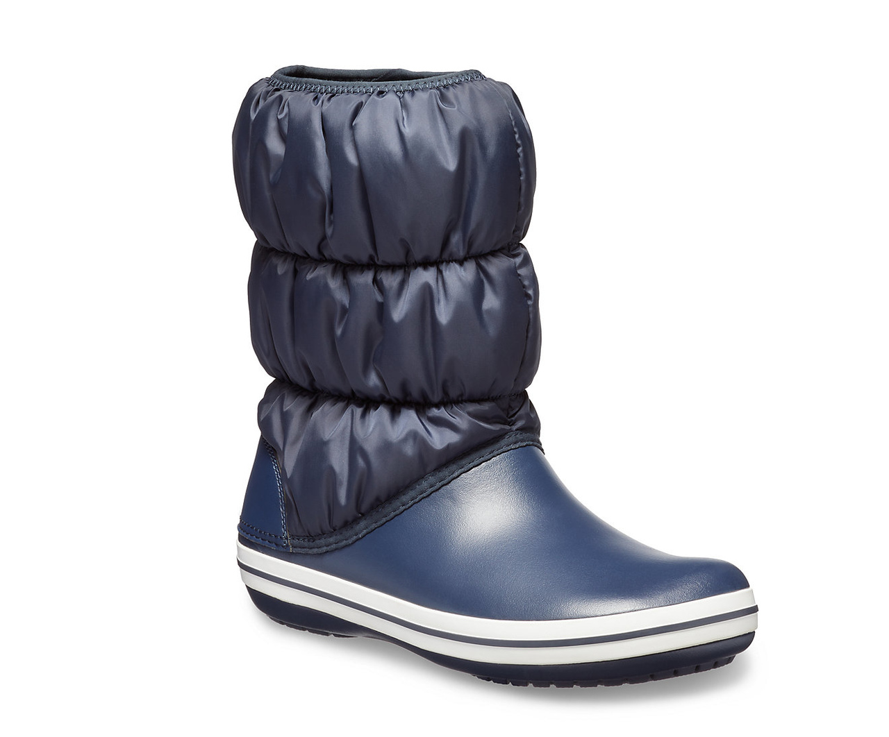 Crocs modré sněhule Winter Puff Boot Navy