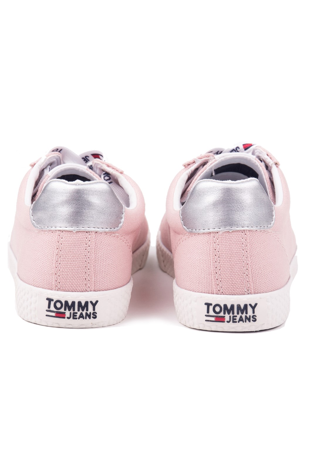 Tommy Hilfiger pudrové tenisky Tommy Jeans Casual Sneaker Lotus