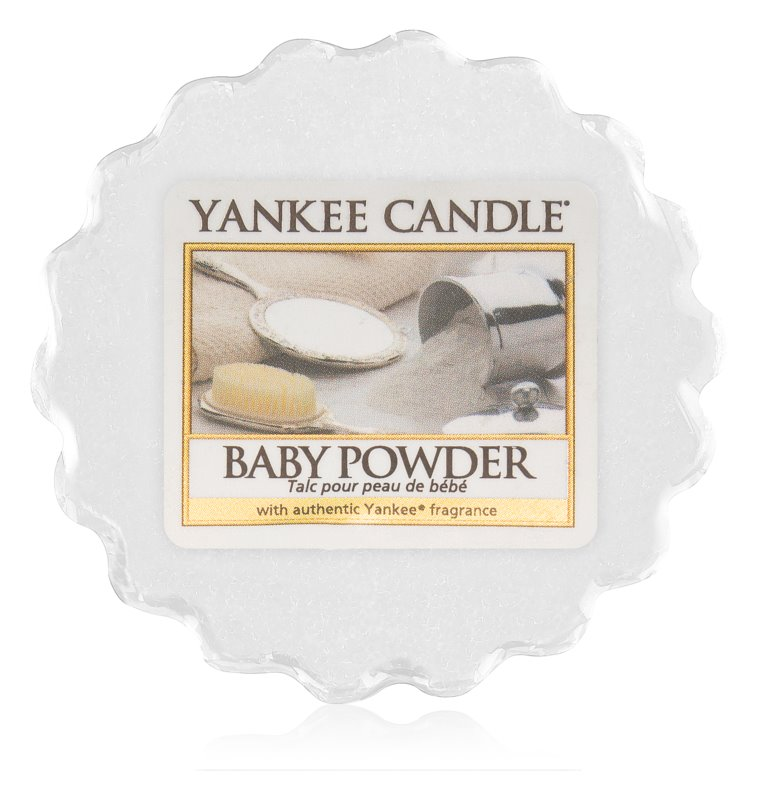 Yankee Candle vonný vosk do aroma lampy Baby Powder