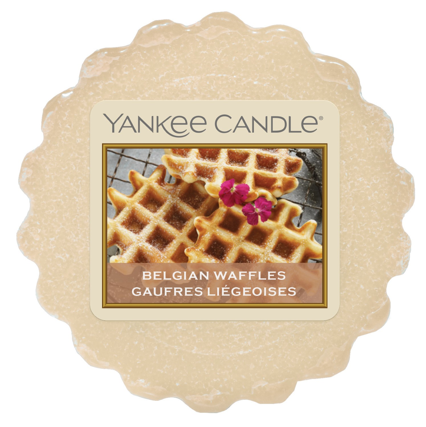 Yankee Candle vonný vosk do aroma lampy Belgian Waffles