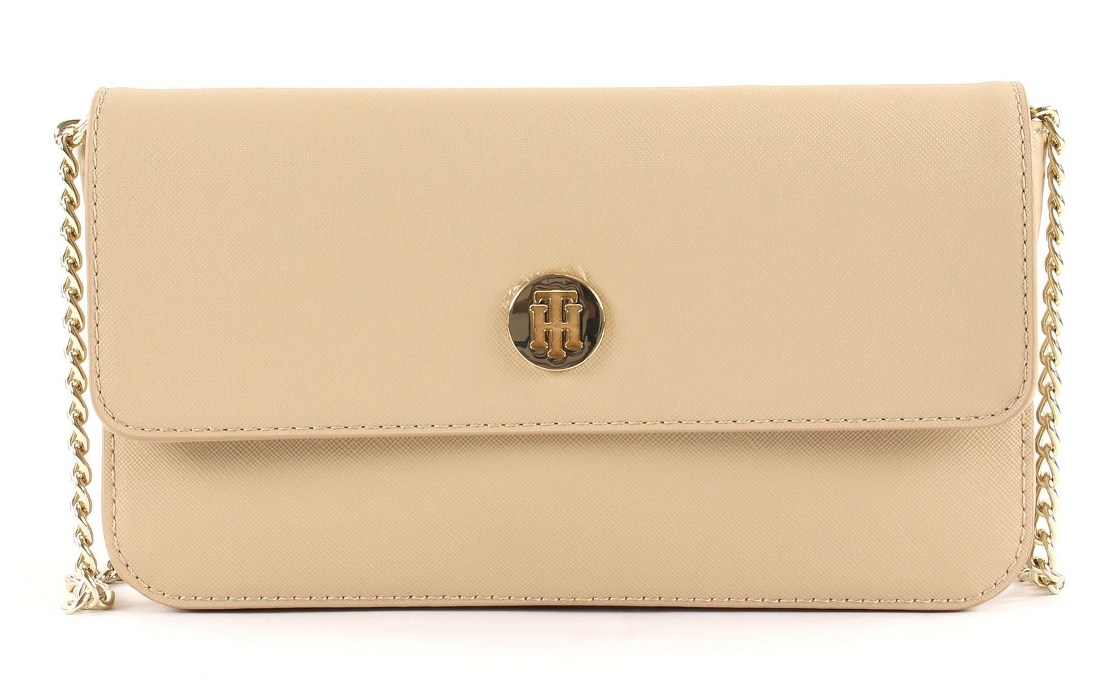 Tommy Hilfiger béžová kabelka Honey Mini Crossover Warm Sand