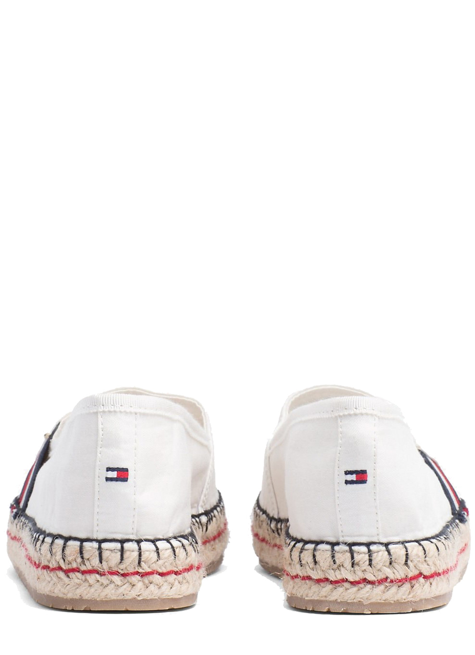 Tommy Hilfiger bílé espadrilky TH Patch Espadrille Whisper White