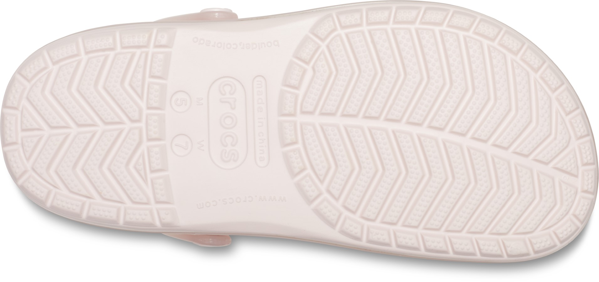 Crocs růžové pantofle Crocband Ice Pop Clog Barely Pink
