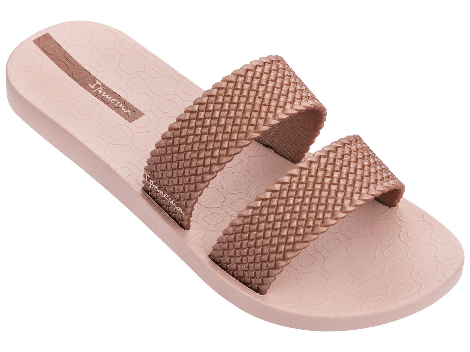 Ipanema pudrové pantofle City Fem Light Pink/Rose