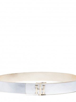 Tommy Hilfiger oboustranný pásek TH Buckle Reversible Gold/Silver - 85