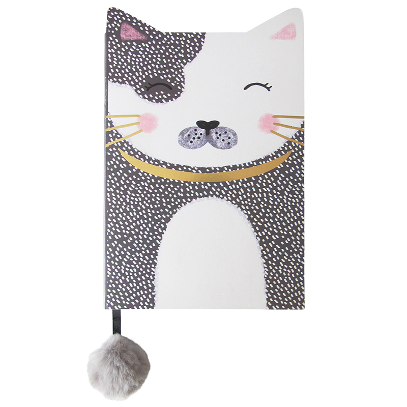 Disaster linkovaný sešit Over The Moon Cat Notebook A5