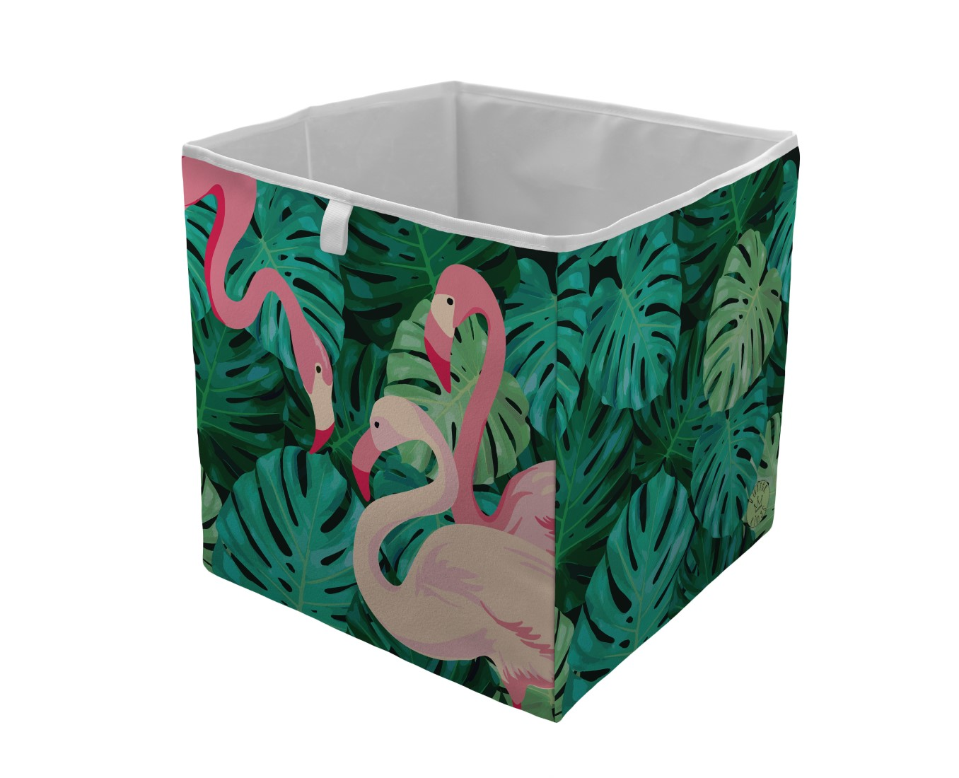 Home barevný úložný box Butter Kings Flamingos In Jungle