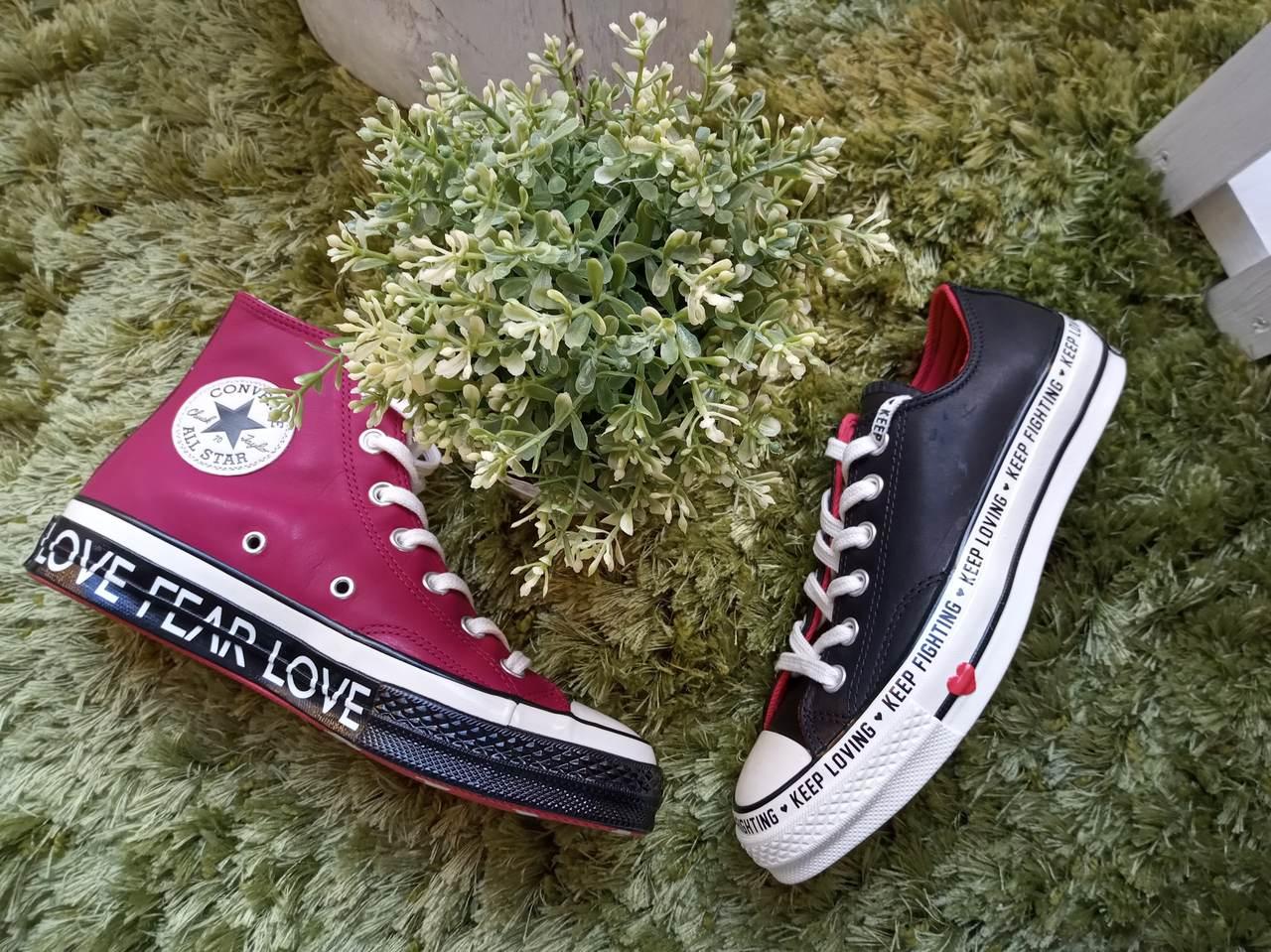 Srdcovky - limitovaná kolekce Converse