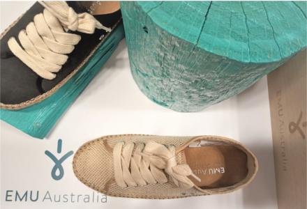Bavlněné boty Emu - stylovka na jaro