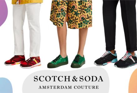 Boty Scotch&Soda - budeme trendy oba!
