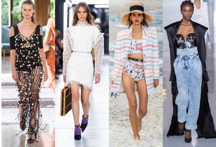 Módní trendy z Fashion Weeků 2019