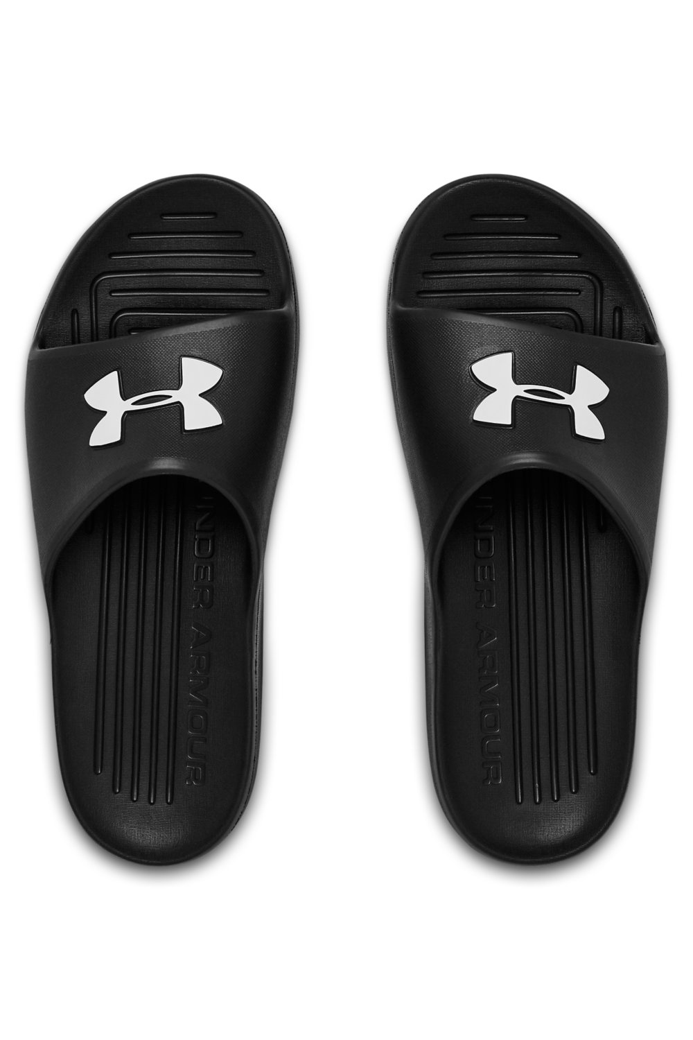 Under Armour černé unisex pantofle Core Pth Slide