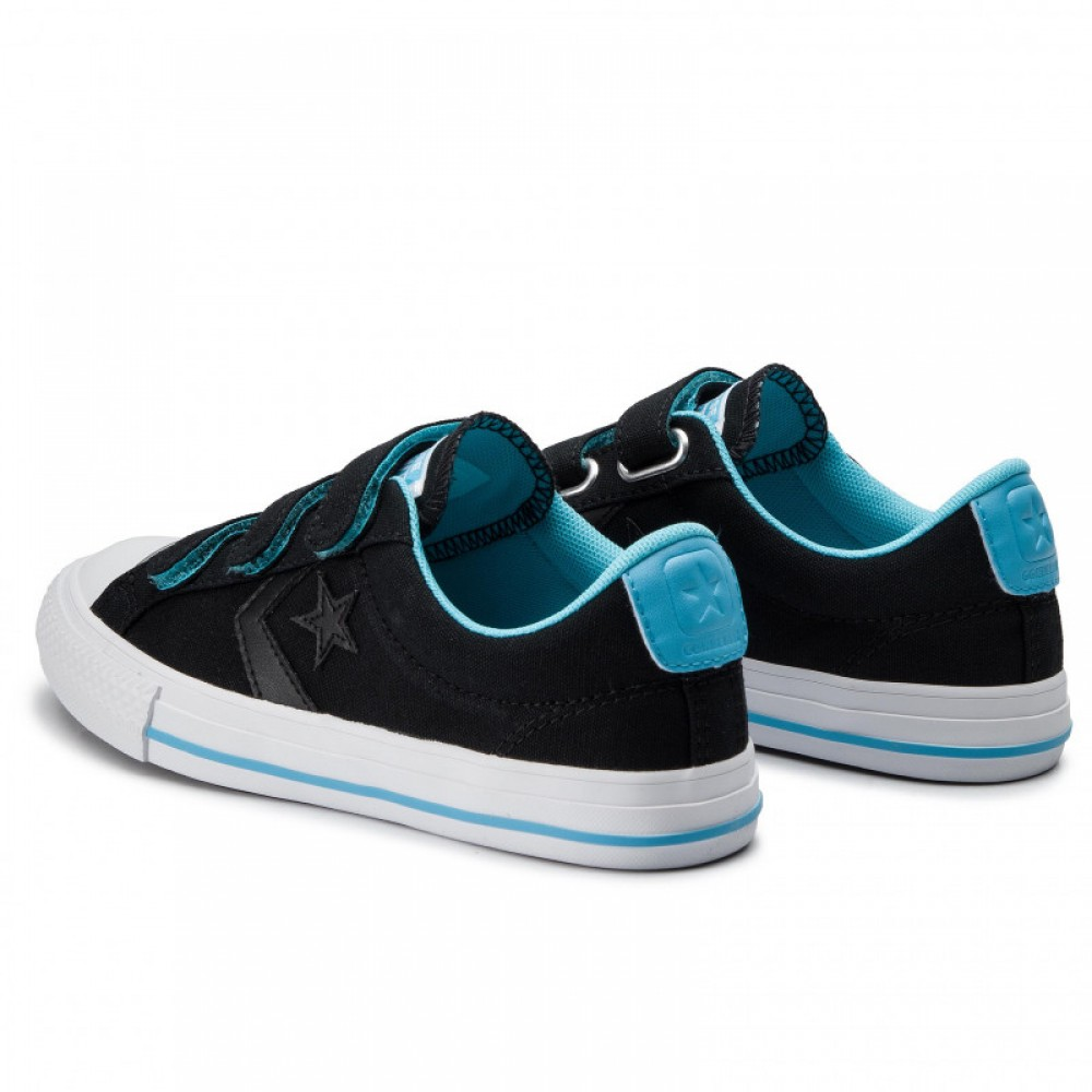 Converse černé tenisky One Star Player Ox Black/Gnarly Blue