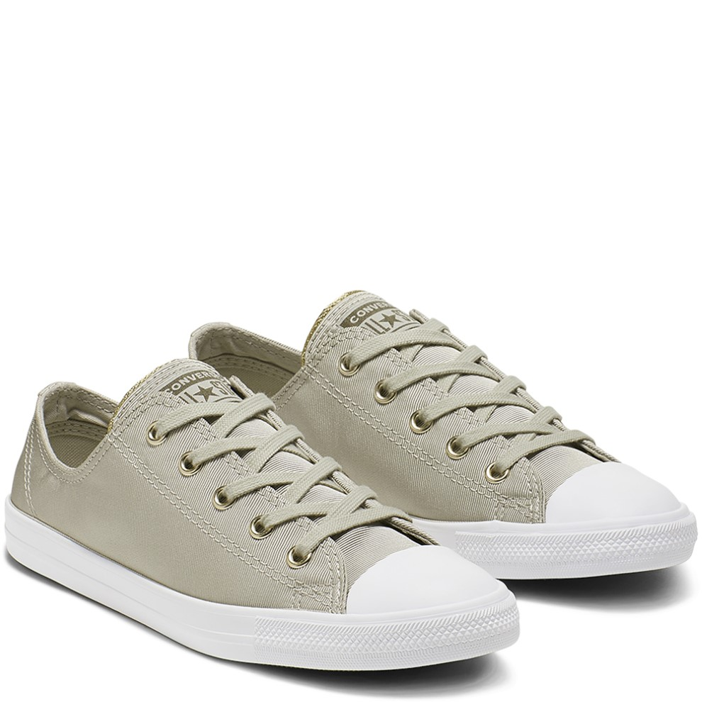 878e6e288d Converse olivové tenisky Chuck Taylor All Star Dainty Ox Light surplus