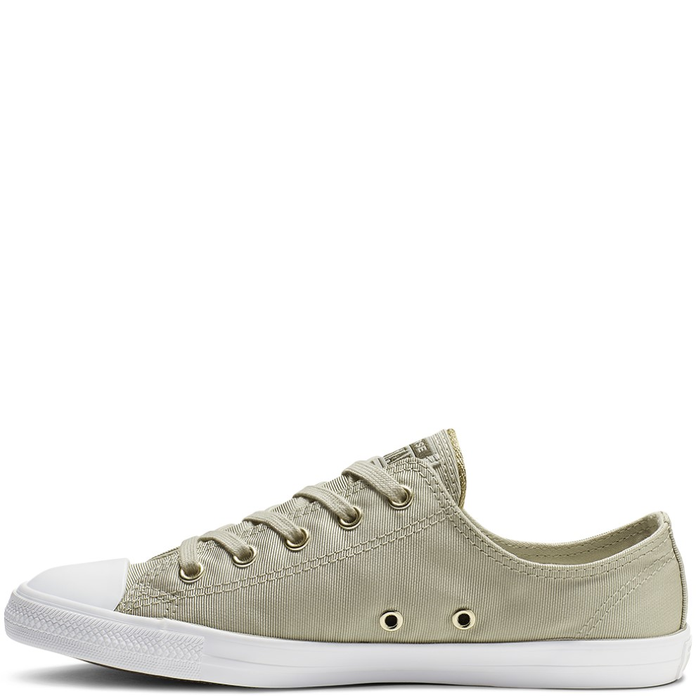 Converse olivové tenisky Chuck Taylor All Star Dainty Ox Light surplus