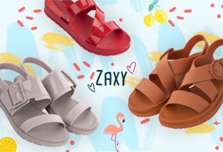 Plastové boty Zaxy - nová kolekce jaro/léto 2019