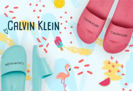 Slide pantofle Calvin Klein