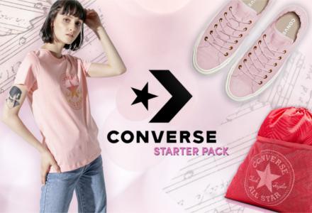 Converse - ideální volba na fesťák