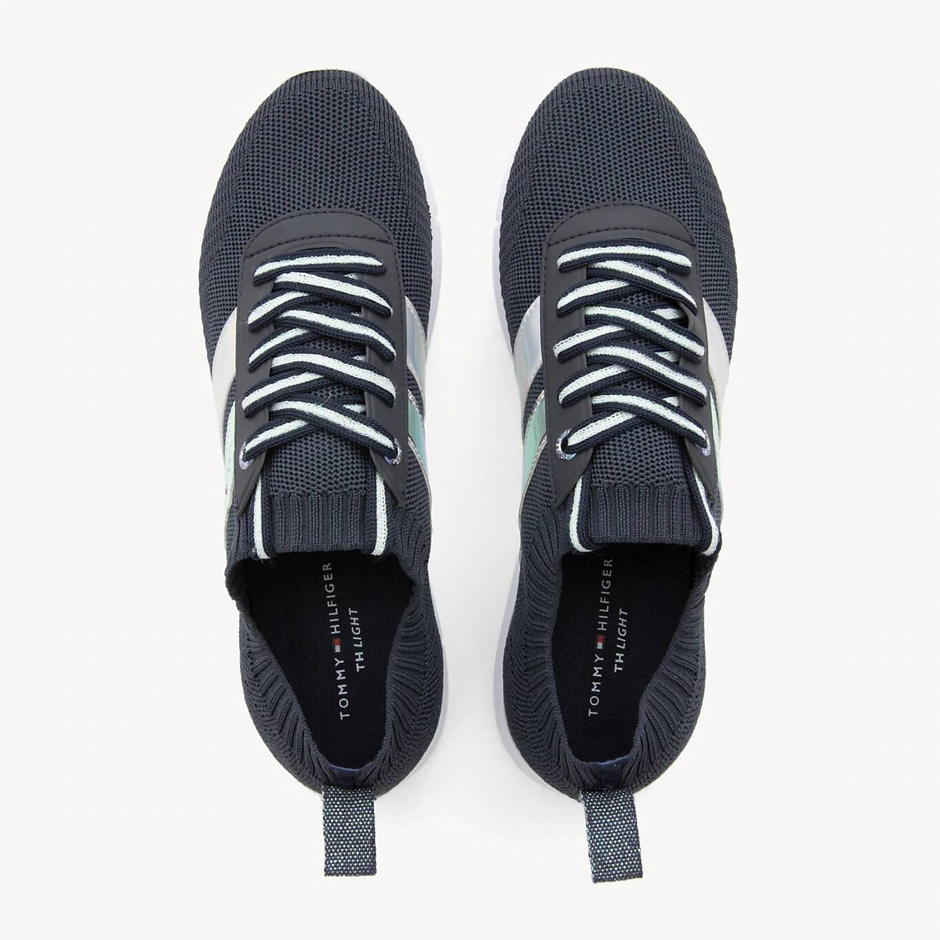 Tommy Hilfiger modré tenisky Corporate Detail Light Sneaker Midnight